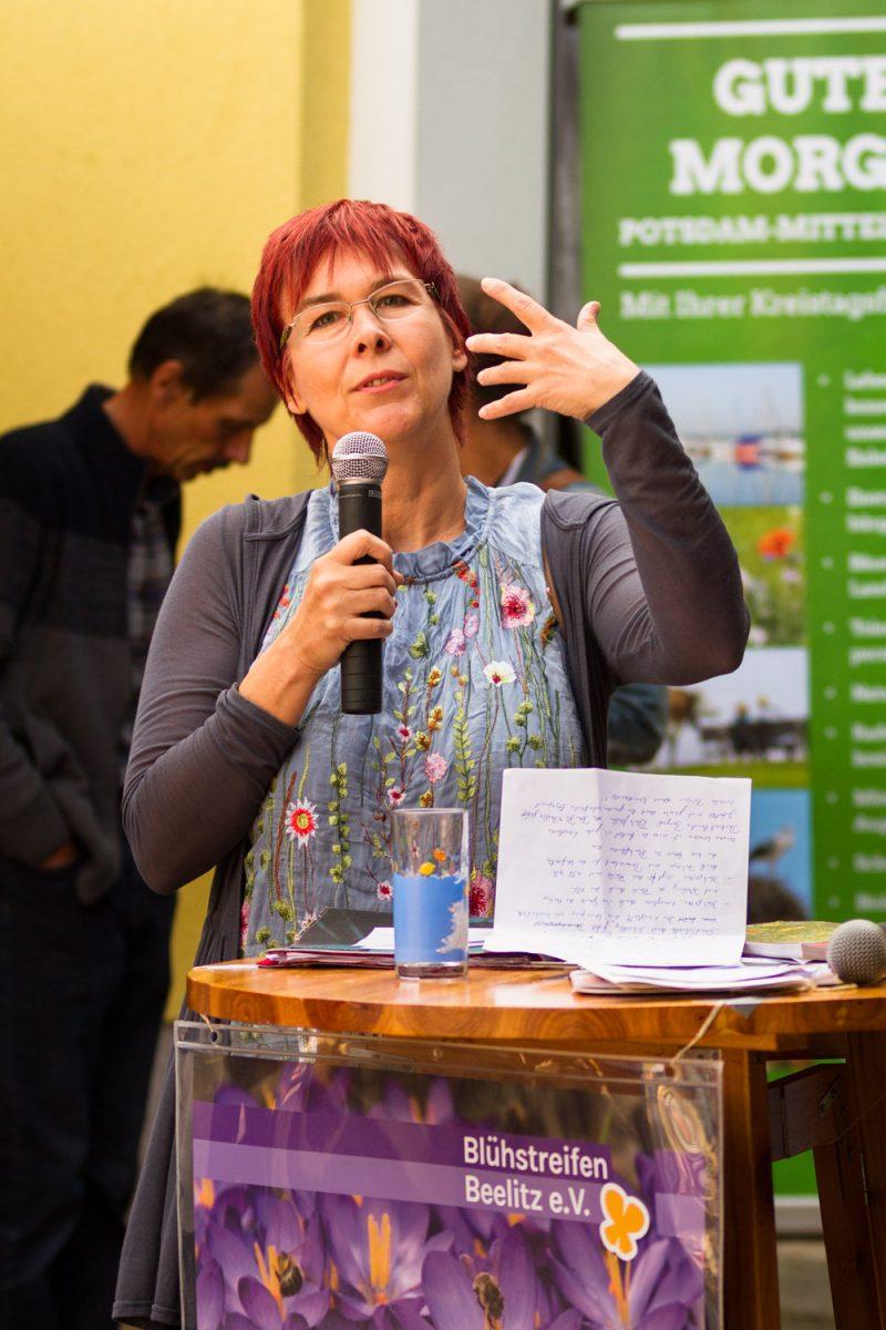 Barbara Stark vom Netzwerk Blühende Landschaft Foto: www.enrico.roehner.eu