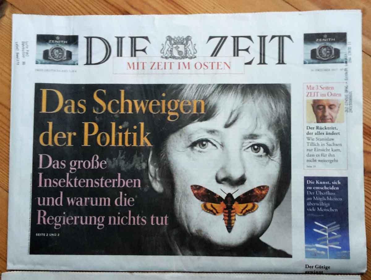 Foto von 20171029-Die Zeit N°44-Titelbild-Insektensterben