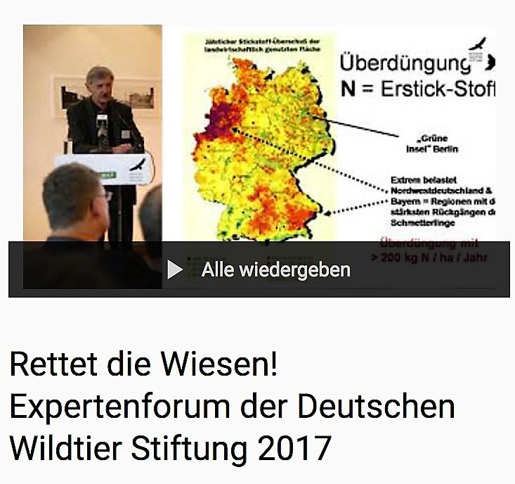 Expertenforum Deutsche Wildtier Stiftung 2017