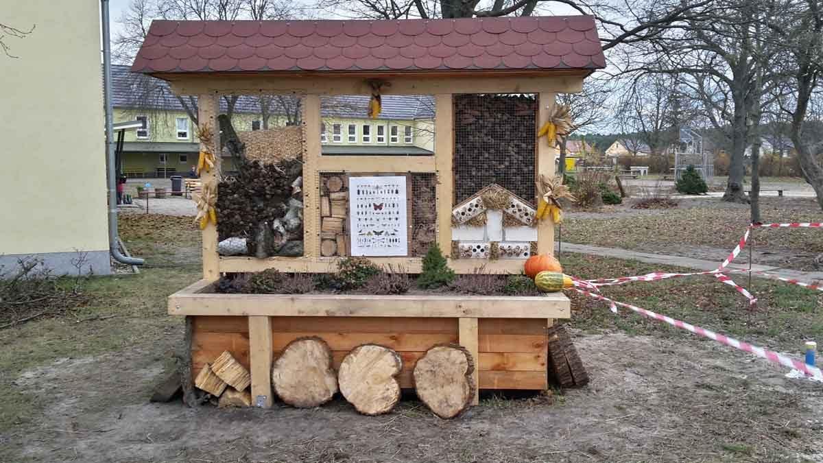 Insektenhotel in Züllichendorf