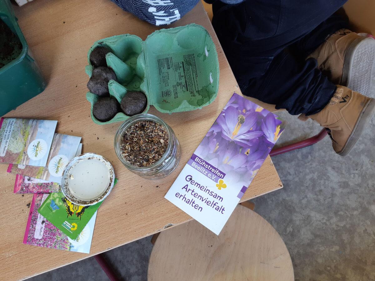 Samen für die Saatkugeln