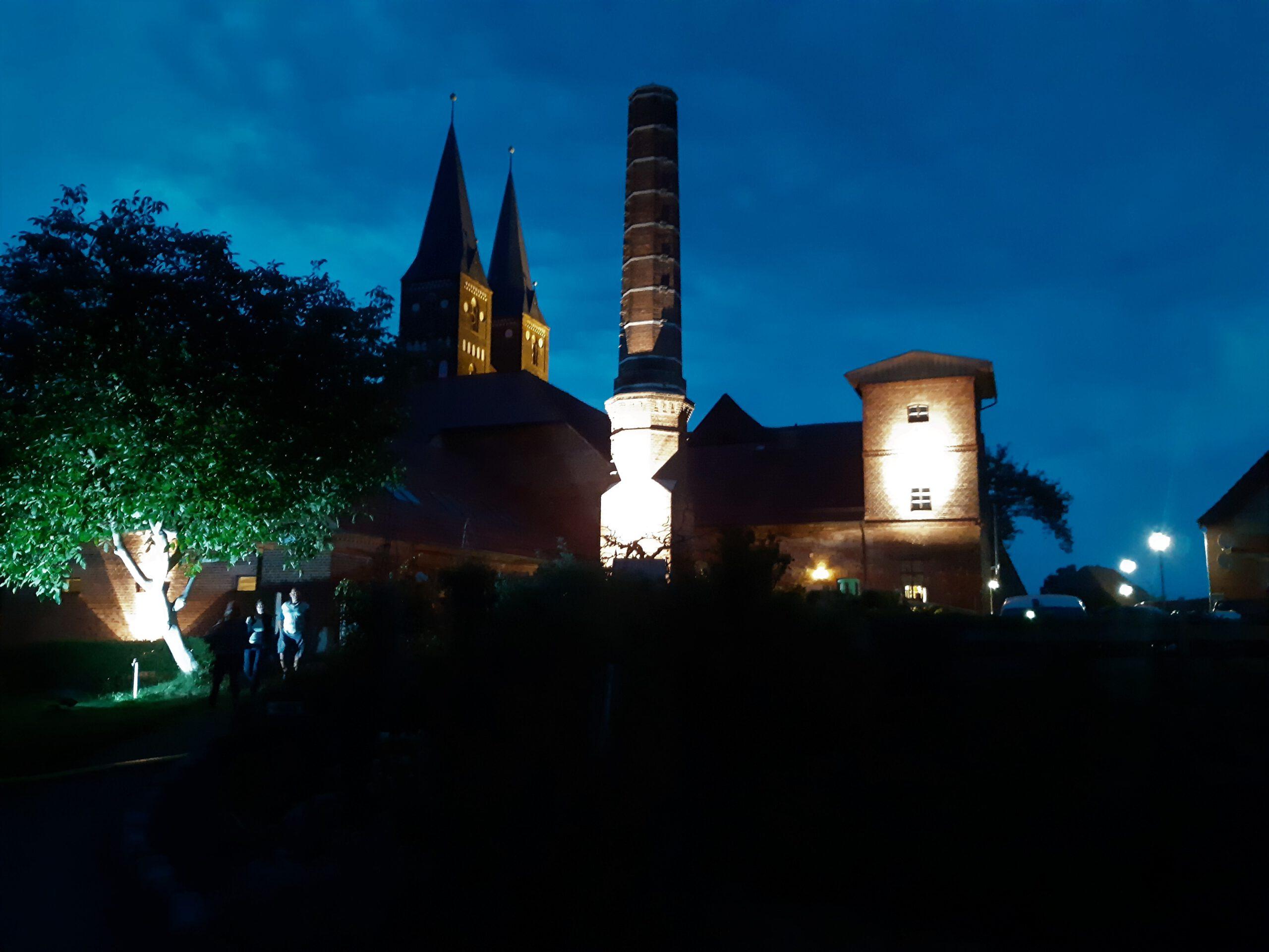 Kloster Jerichow bei Nacht