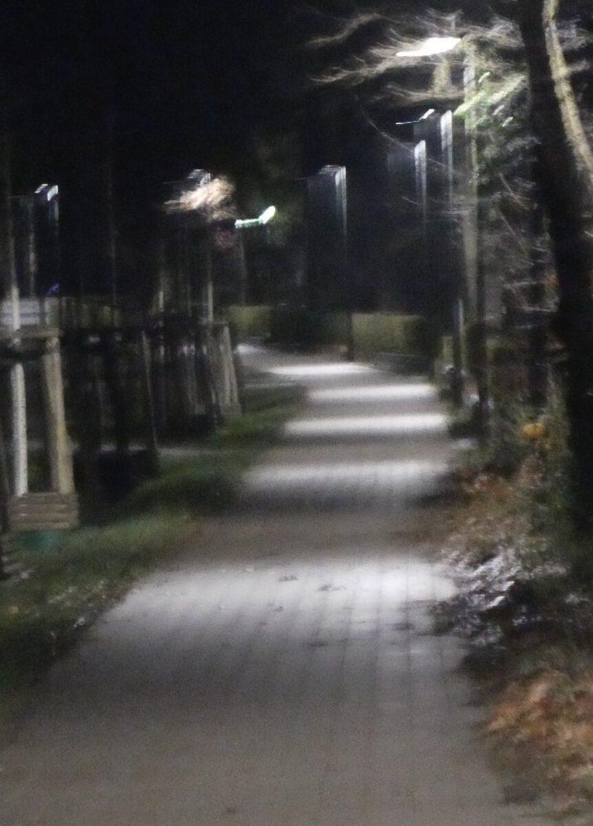Gehwegbeleuchtung in Beelitz