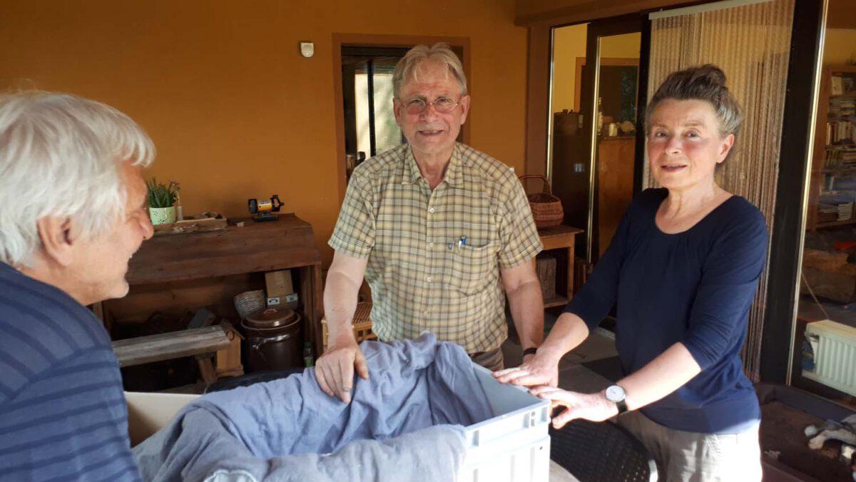 Falk Witt und Frau Andrea übernehmen die Patienten